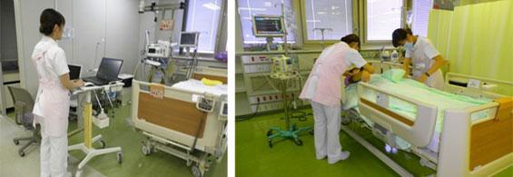 HCU病棟の様子