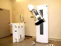 マンモグラフィーの撮影装置の写真
