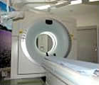 がんセンターのCT装置の写真