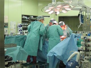 手術室での様子